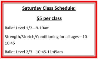 saturday-classes