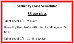saturday-classes