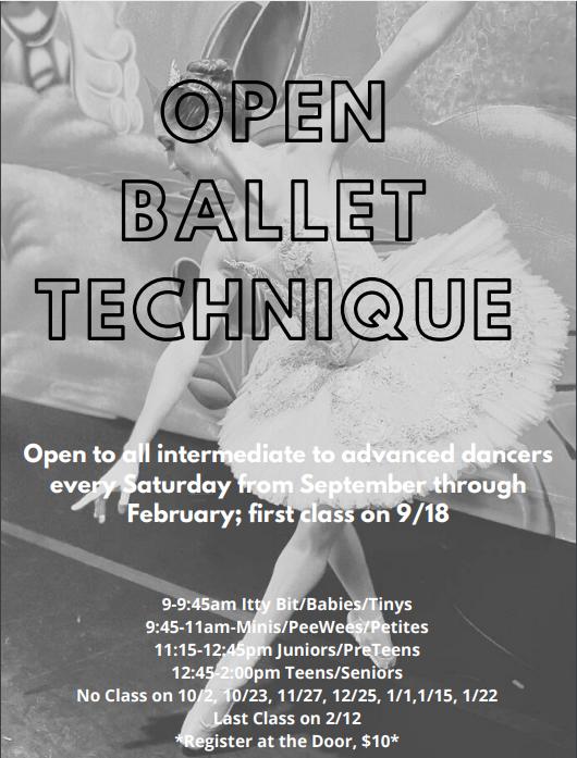 2021 Open Ballet